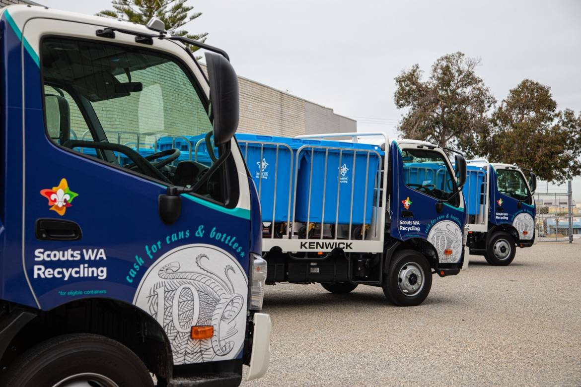Scouts WA Recycling Container Deposit Scheme