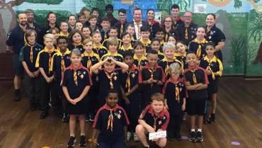 Mark McGowan MLA joins Scouts WA