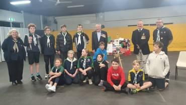 Mullaloo Sea Scout Group and Wanneroo RSL ANZAC Celebrations